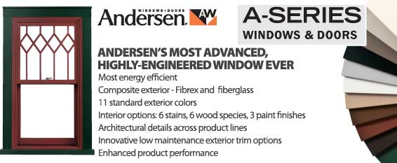 Andersen A Series Windows and Doors