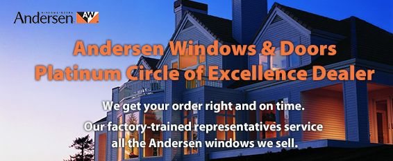 Your Best Sourve for Andersen Windows and Doors