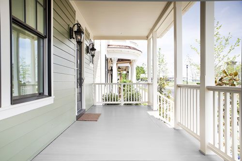 Two Great Choices In Porch Flooring Erie Materials