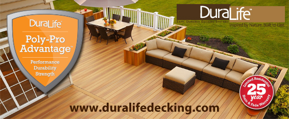 DuraLife Decking and Railing in Stock