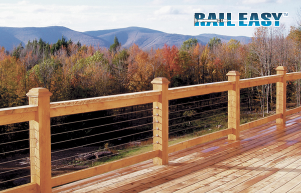 Open Views And Add Style With A Rail Easy Cable Railing