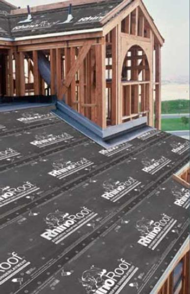 New Rhinoroof Synthetic Underlayment Beats Felt Erie