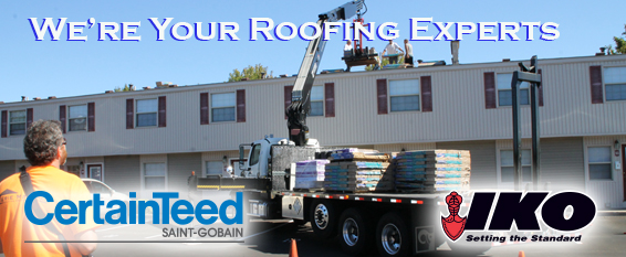 We're Your Roofing Experts