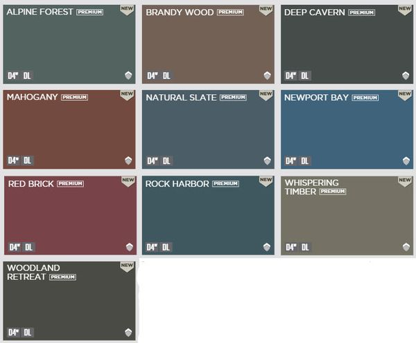 Dark Bold Solardefense Colors Now Available In Mastic Carvedwood 44