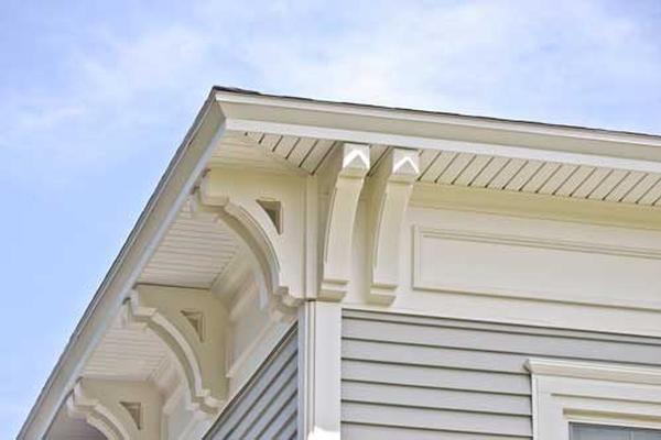 Restoration Millwork, Monogram Siding