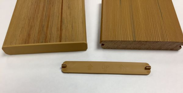 End Caps Available For Duralife Decking Erie Materials