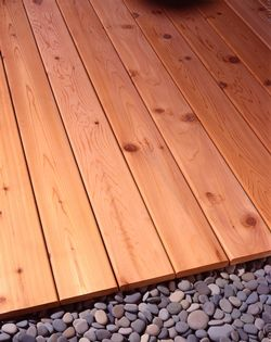Cedar Decking Now in Stock