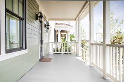 Two Great Choices in Porch Flooring