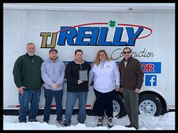 TJ Reilly Construction Earns Top Honors from CertainTeed for Residential Remodel