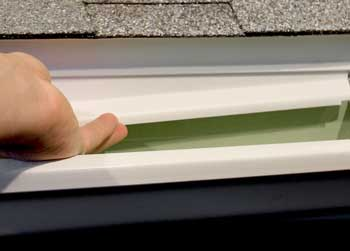Keep Rain In The Gutter With Drip Strip Erie Materials