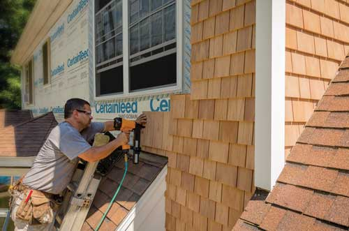 a better cedar shingle from certainteed erie materials
